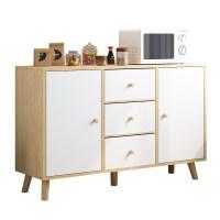 餐边柜靠墙柜子储物柜收纳家用简易置物柜碗柜客厅厨房橱柜茶水柜
