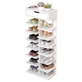 鞋架简易家用门口省空间室内好看多层经济型放收纳神器小型鞋柜子