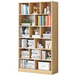 书架置物架简约落地客厅收纳架子学生卧室家用多层省空间小型书柜