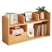 简易桌上书架学生宿舍桌面收纳架办公桌多层置物架书桌转角小书柜