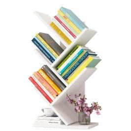 简易桌上书架办公桌多层置物架学生宿舍桌面收纳架整理书桌小书柜