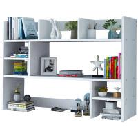 桌上书架办公室桌面简易书桌小型收纳架子飘窗学生多层置物架书柜