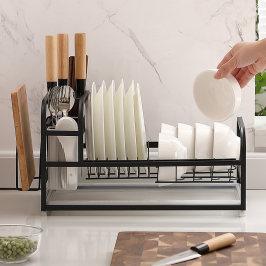 厨房置物架碗碟碗盘收纳架晾洗放碗架沥水架碗柜碗筷放碗收纳盒