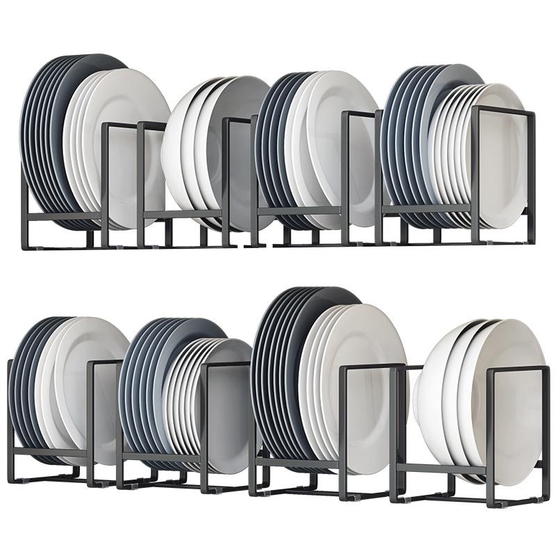 餐具碗盘托橱柜内置物架厨房盘子沥水架碟子架碗碟放盘收纳架家用