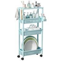 卫生间置物架浴室家用厕所夹缝收纳架子洗手间落地式