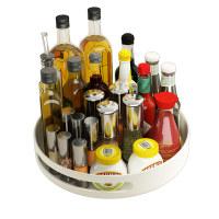 可旋转厨房调料置物架家用转角放油盐酱醋酱油瓶调味品收纳架神器