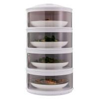 厨房置物架剩菜多层收纳架子旋转多功能保温碗盘神器用品家用大全