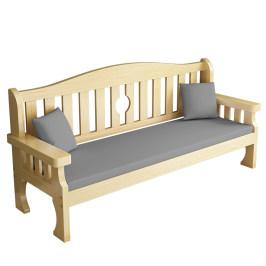实木沙发组合全实木长椅新中式小户型木质客厅现代简约三人木沙发