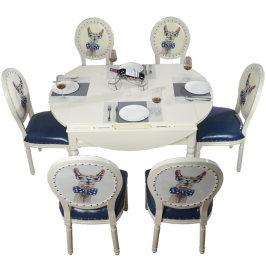 轻奢麻将机全自动家用机麻将桌餐桌两用简约现代实木折叠圆桌一体