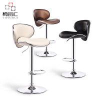 椅品汇吧台椅升降椅子前台吧凳现代简约吧椅酒吧高脚凳高靠背凳子
