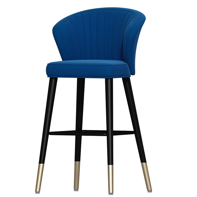 家用轻奢吧台椅高脚凳吧台凳吧椅高脚椅子现代简约酒吧前台高凳子