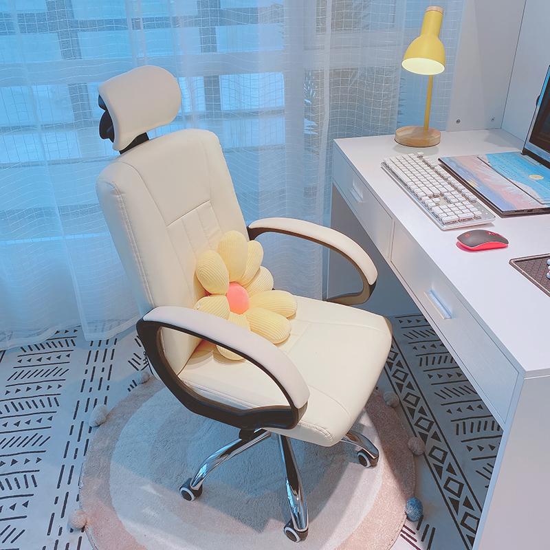 家用电脑椅子卧室宿舍舒适办公升降转椅简约学习写字书桌靠背座椅