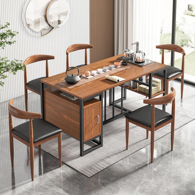 茶桌椅组合家用喝茶简约现代办公室泡茶小茶台功夫茶桌新中式茶几