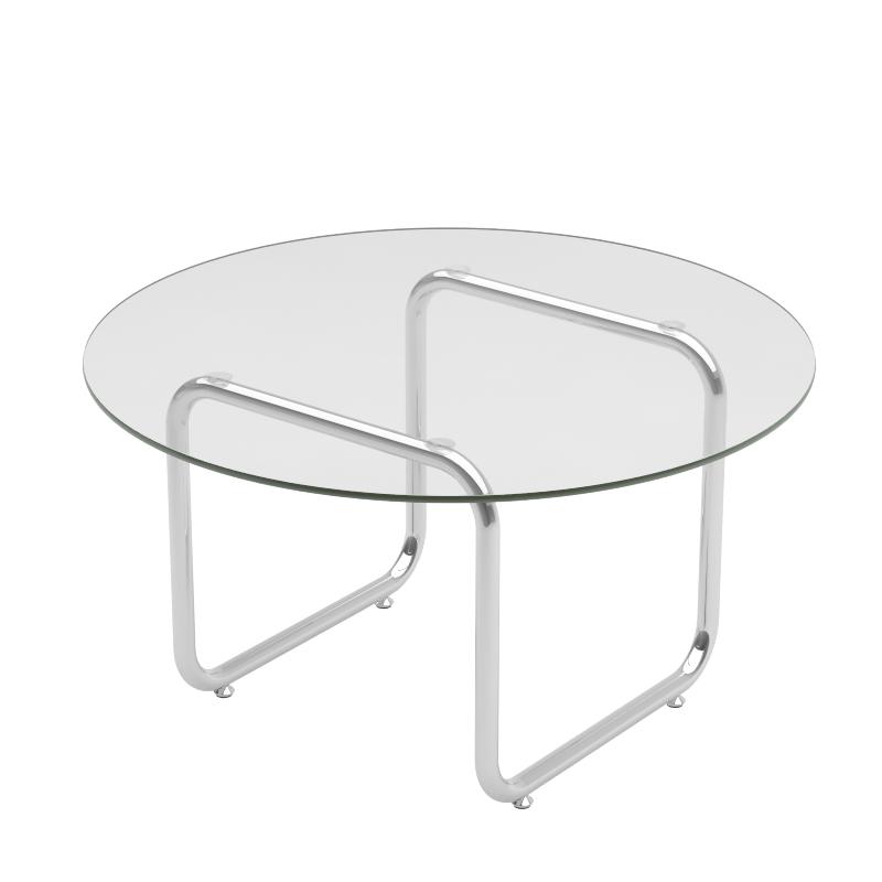ins北欧轻奢小茶几客厅家用小户型边几网红小桌子咖啡桌玻璃圆桌