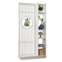 新中式屏风隔断置物架客厅装饰墙简约现代办公室进门口入户玄关柜