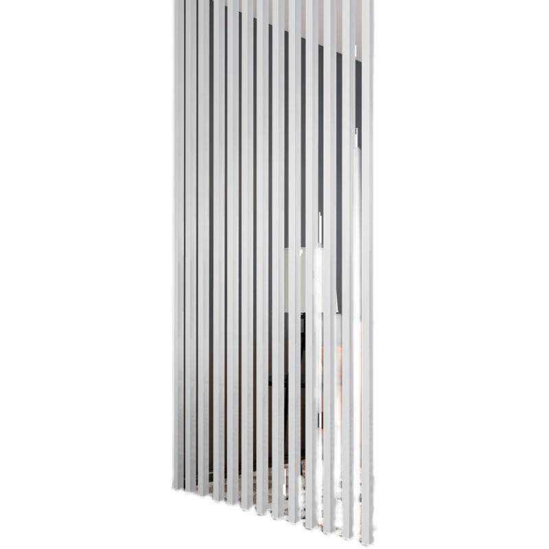 铝合金屏风隔断客厅办公室中式玄关立柱入户隔断墙装饰竖条方通管