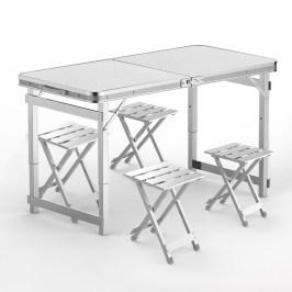 折叠桌户外夜市摆摊地推便携式折叠桌子简易家用小桌子折叠餐桌椅