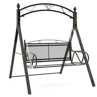 户外秋千双人吊椅室内儿童摇篮椅庭院成人摇椅豪华铁艺加厚吊篮