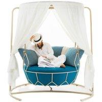 户外鸟巢吊椅景观吊篮阳台网红家用吊床室内摇篮椅设计师创意秋千