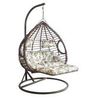 吊篮藤椅懒人吊椅室内吊床家用吊兰摇椅阳台秋千摇篮椅单人掉椅子