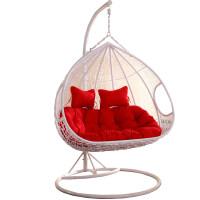 吊篮藤椅室内家用吊床双人秋千阳台摇椅掉鸟巢吊兰懒人摇篮椅吊椅