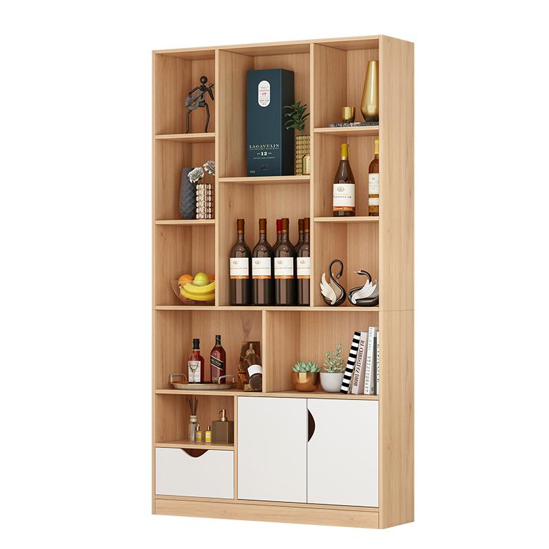 餐边柜酒柜玄关柜储物柜子置物架展示柜轻奢一体靠墙高柜现代简约