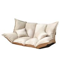 懒人沙发榻榻米折叠双人小户型网红款卧室单人简易地上沙发床两用