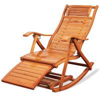 躺椅折叠成年人竹摇摇椅家用午睡凉椅老人休闲逍遥椅大人靠背椅子